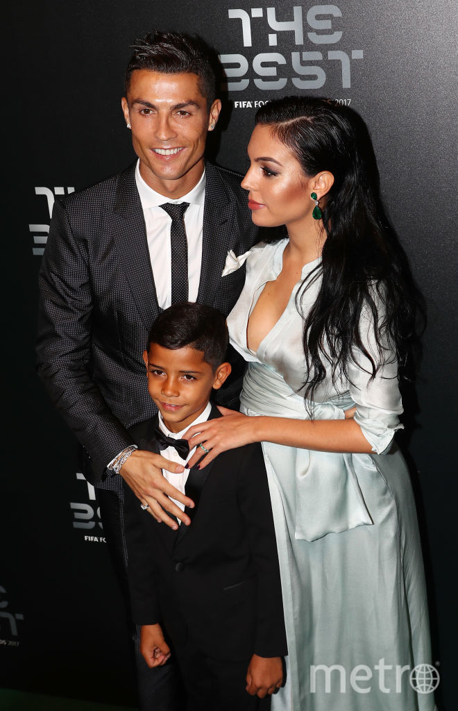 Криштиану Роналду с возлюбленной Джорджиной Родригес, фотоархив. Фото Getty
