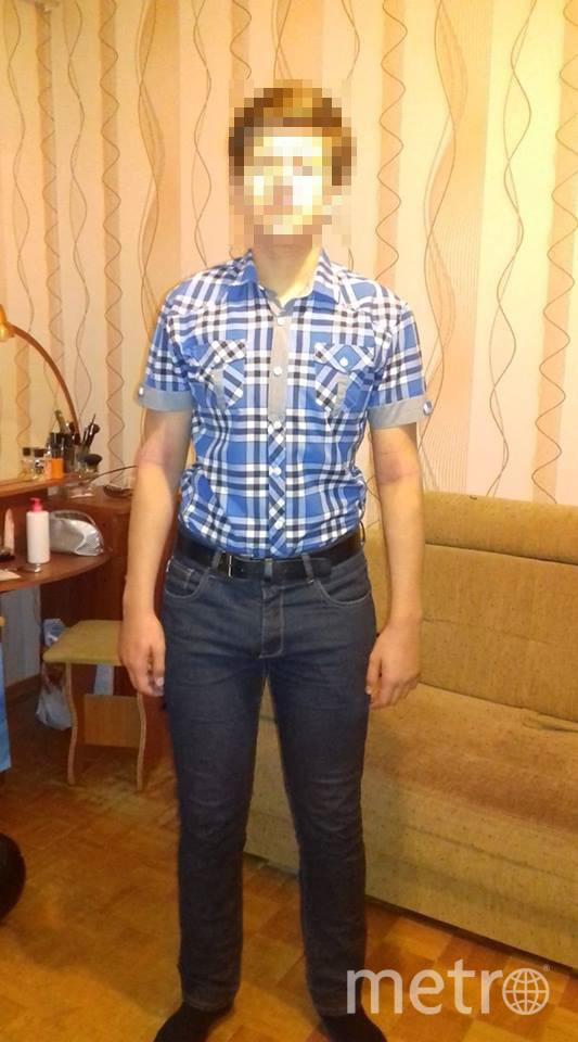 Мальчик в тех самых джинсах. Фото предоставила Татьяна Костарёва