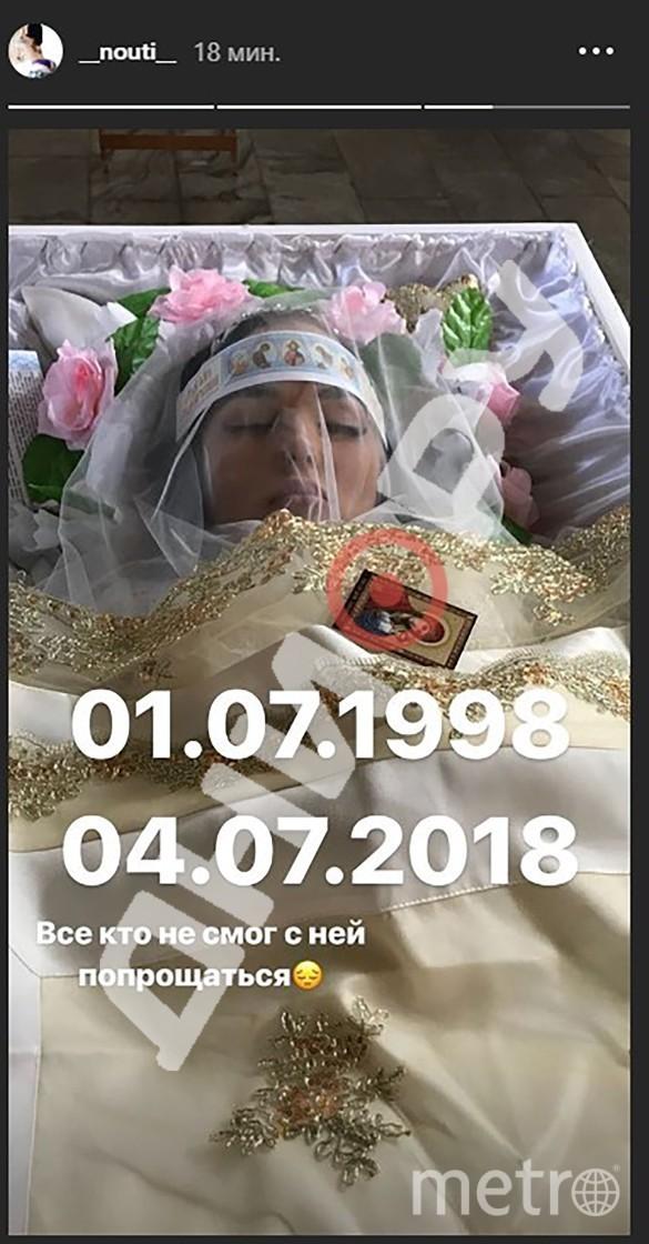 Фото Полины Лобановой появилось на странице памяти девушки. Фото Dni.ru
