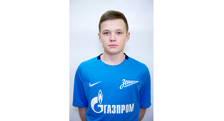 """Защитник """"Зенита"""" U-13 Никита Лобов. Фото fc-zenit.ru"""