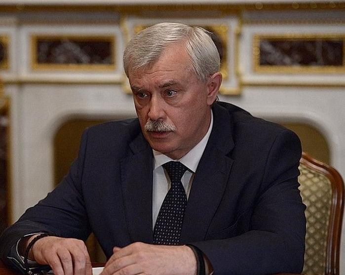 Путин предложил Полтавченко уйти с поста губернатора Петербурга. Фото Wikipedia