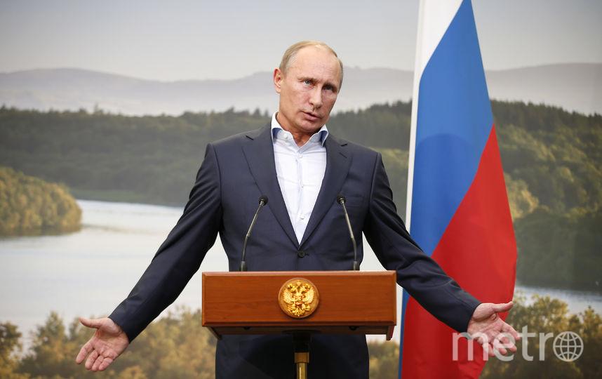 Путин предложил Полтавченко уйти с поста губернатора Петербурга. Фото Getty