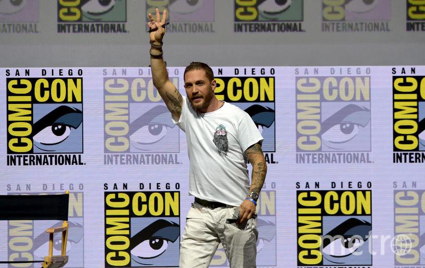 """Том Харди рассказал о новом фильме """"Веном"""" и о том, каким супергероем хотел бы быть. Фото Getty"""