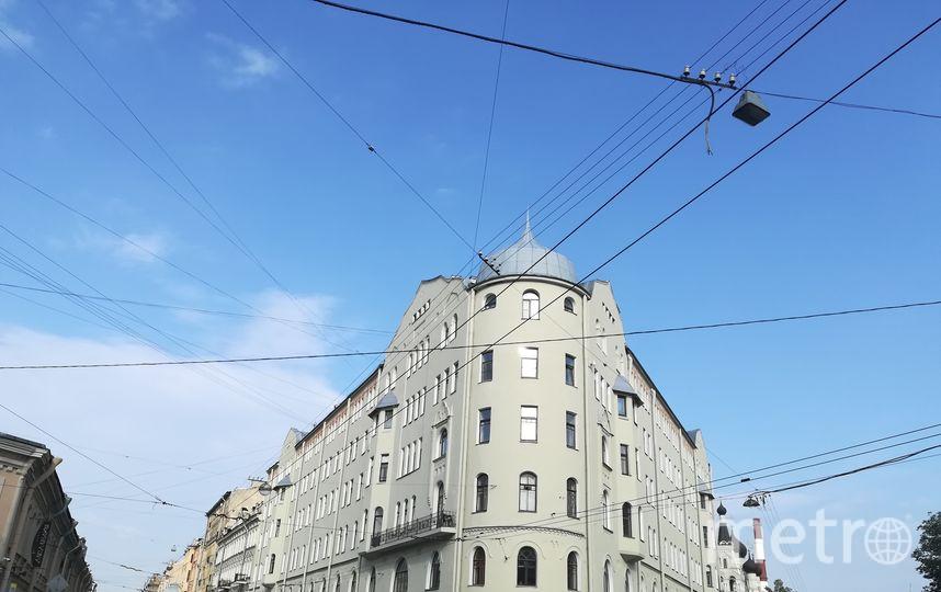 Дом на Мытнинской после реставрации. Фото Предоставлено Ярославом Костровым