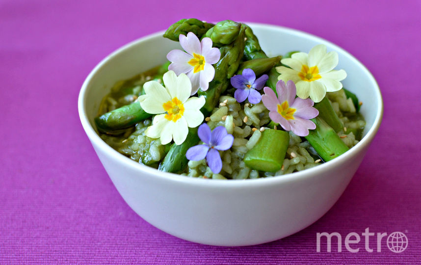 Цветочная кухня. Фото iStock