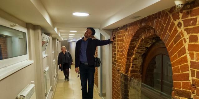 Это один из коридоров театра.