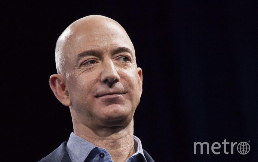 Основатель Amazon Джефф Безос, 1 место. Фото Getty