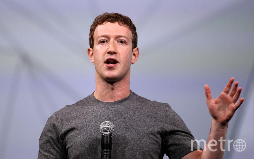 Основатель Facebook Марк Цукерберг, 4 место. Фото Getty
