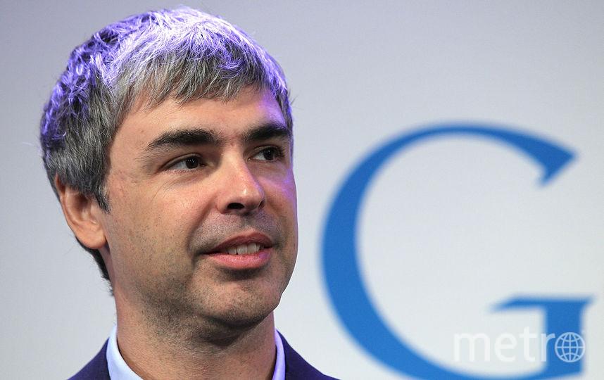 Сооснователь Google Ларри Пейдж , 6 место. Фото Getty