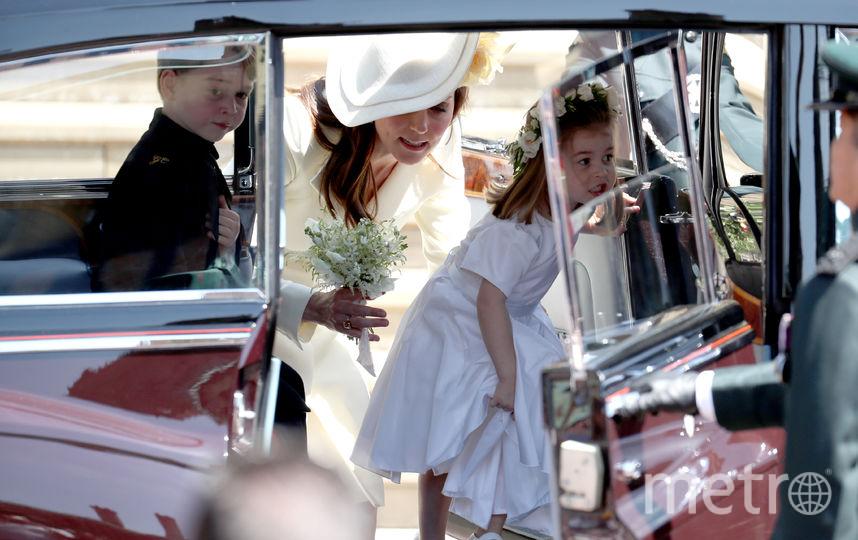 Кейт Миддлтон с детьми. Фото Getty