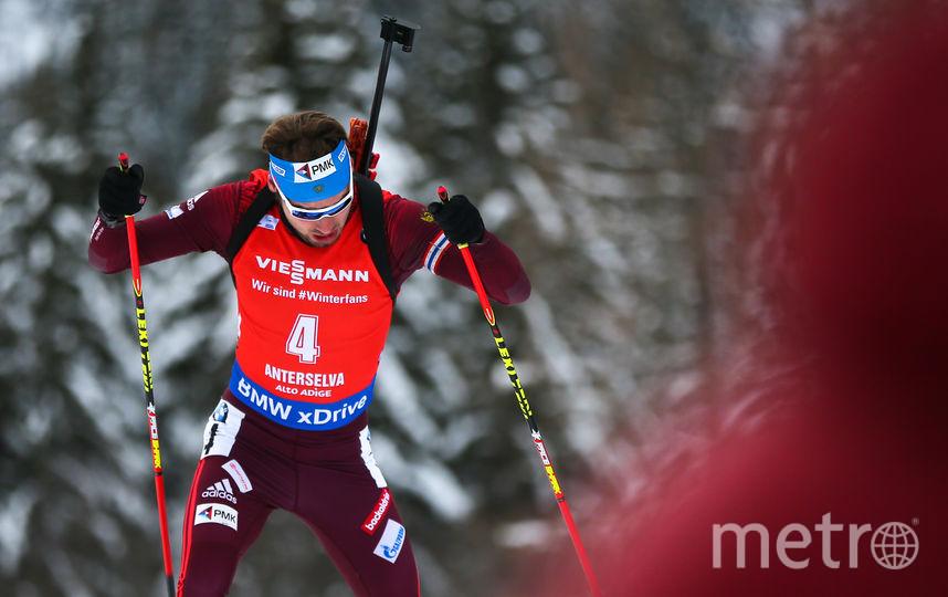 Олимпийский чемпион Сочи-2014, российский биатлонист Антон Шипулин. Фото Getty