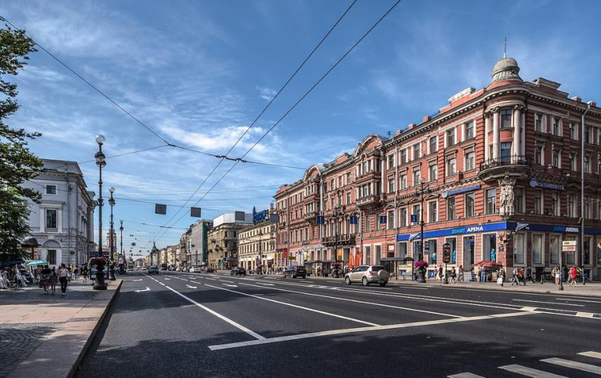 Невский проспект, современный вид. Фото Wikipedia
