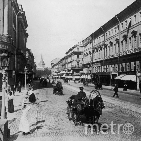 Невский проспект в начале 1900-х. Фото Getty