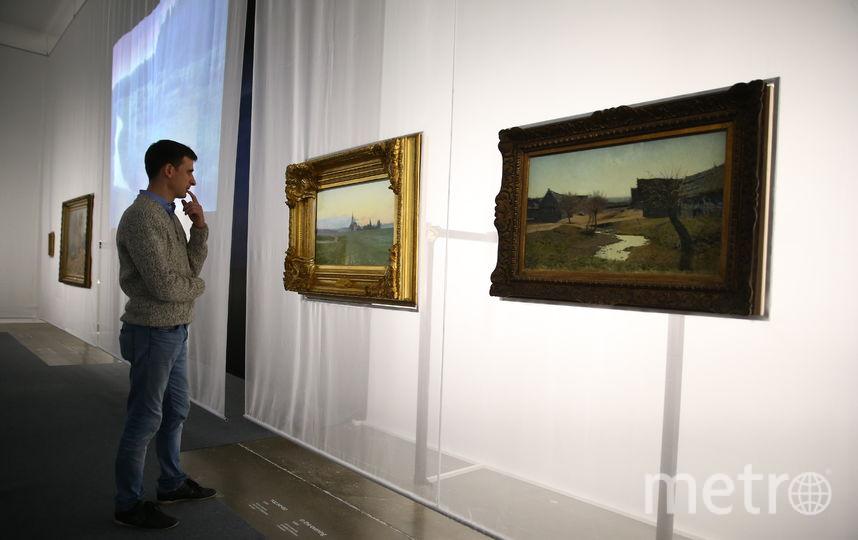 В Еврейском музее и центре толерантности открылась необычная выставка Левитана. Фото Василий Кузьмичёнок