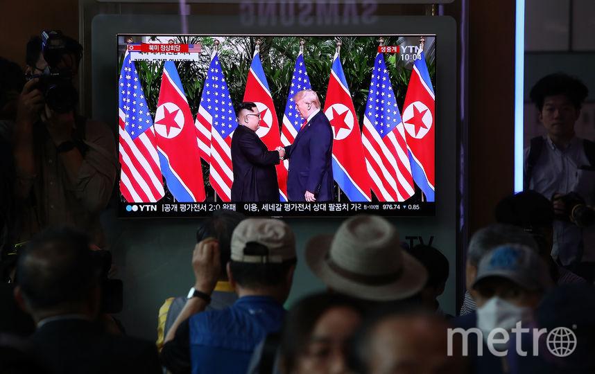 Победителем Нобелевской премии мира, по мнению Time, могут стать даже Трамп и Ким Чен Ын. Фото Getty