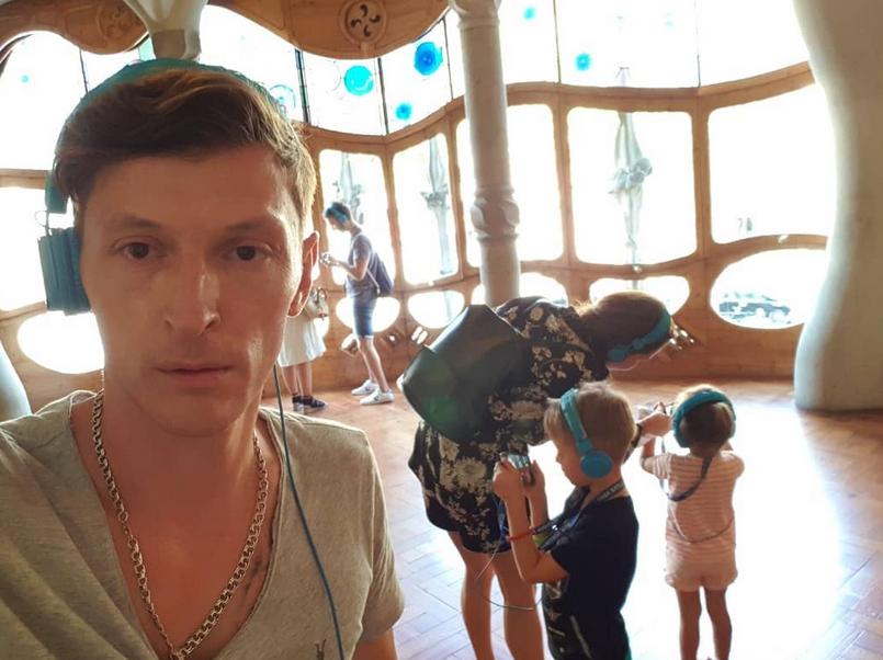 Павел Воля, фотоархив. Фото скриншот https://www.instagram.com/pavelvolyaofficial/