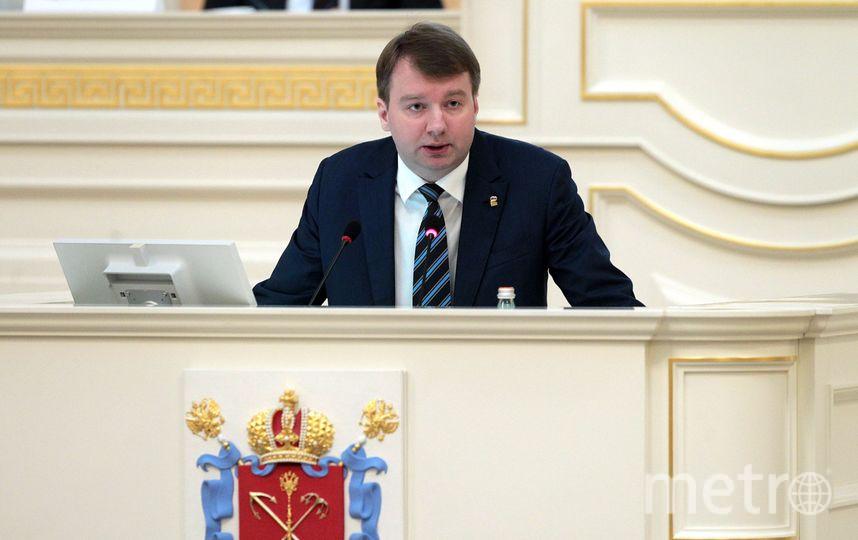 Александр Тетердинко, депутат закса.