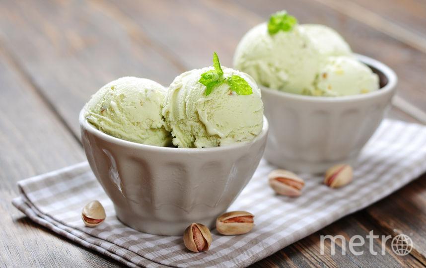 Зелёное мороженое. Фото Скриншот Instagram