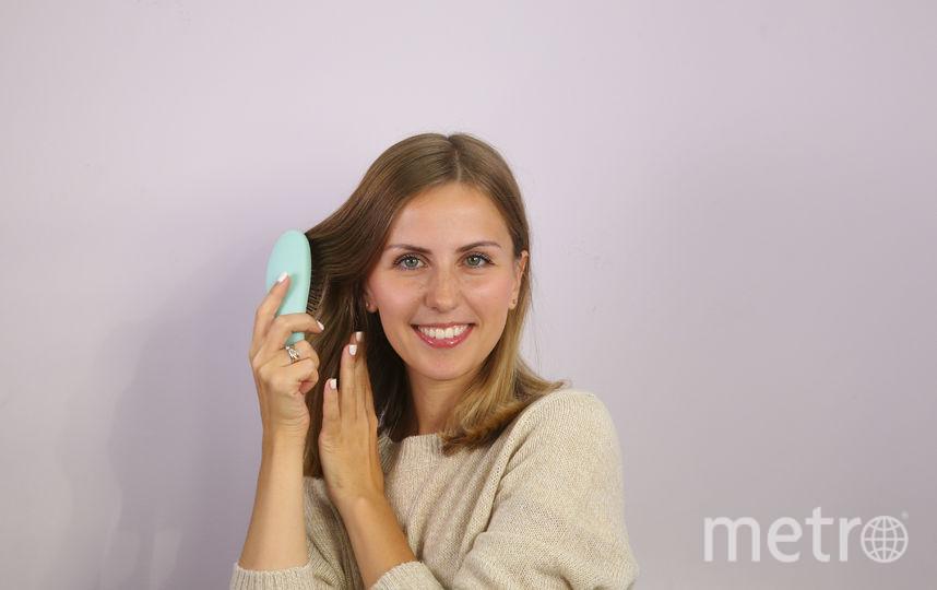 Как использовать сухой шампунь. Шаг 3. Фото Василий Кузьмичёнок