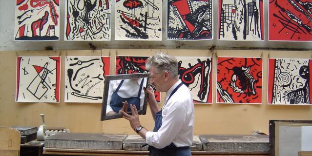11. Выставка литографий Дэвида Линча.