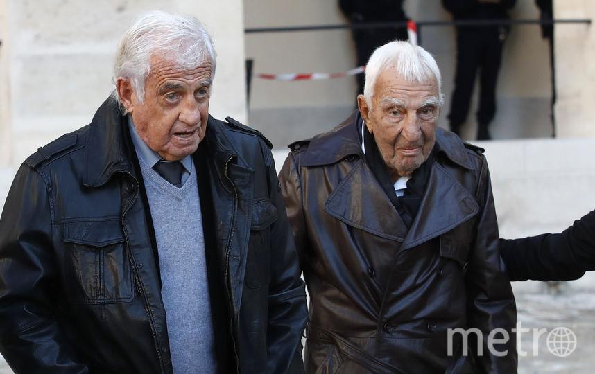 Жан-Поль Бельмондо и Шарль Жерар. Фото AFP