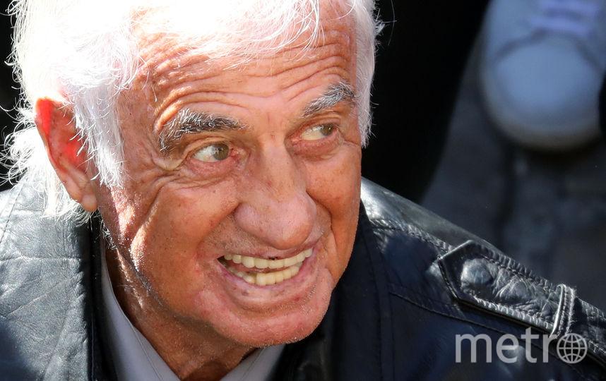 Жан-Поль Бельмондо. Фото AFP