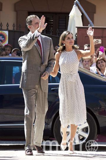 Королева Летиция и король Филипп VI. Фото Getty