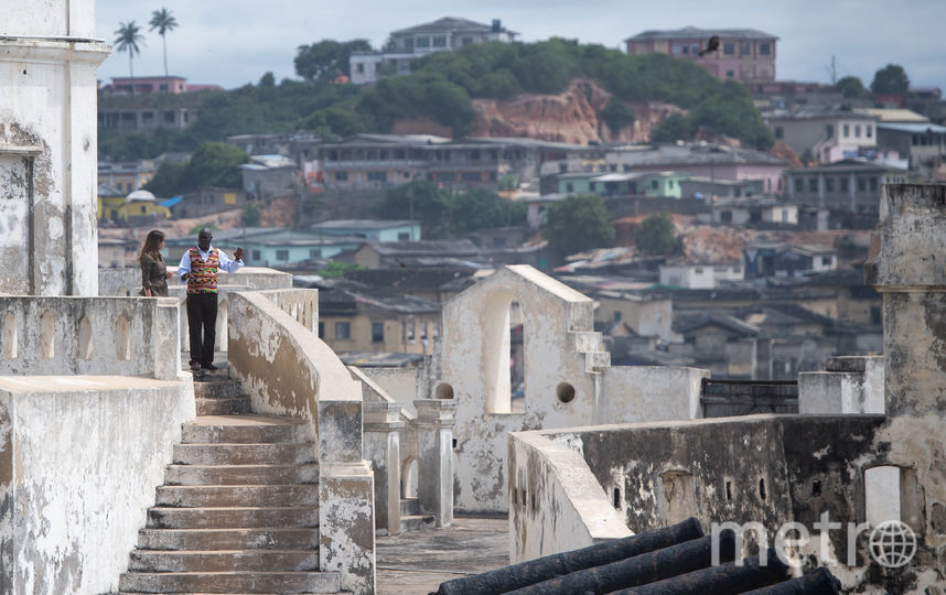Мелания Трамп осматривает достопримечательности Ганы. Фото AFP