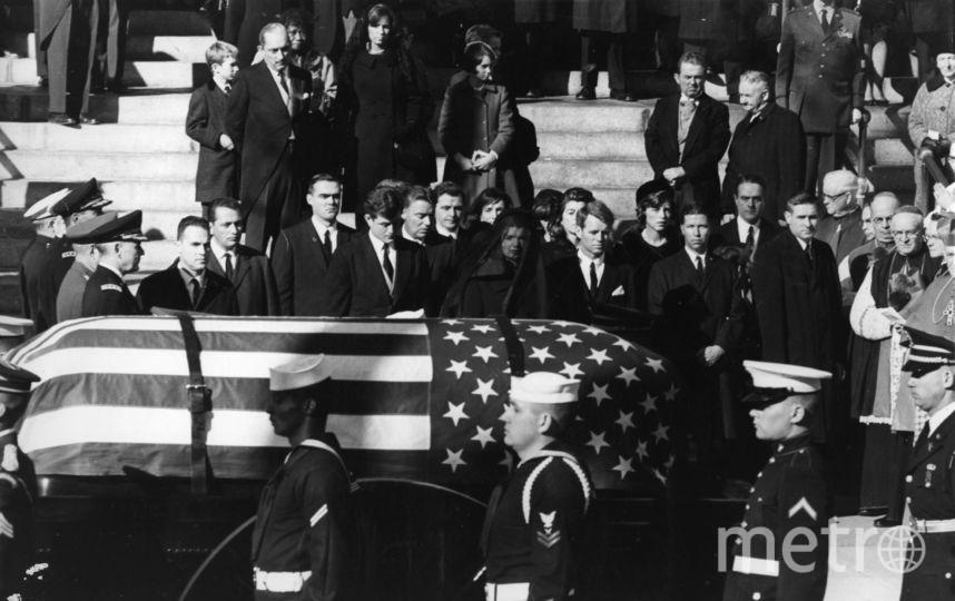 Роберт Кеннеди на похоронах брата Джона. Фото Getty