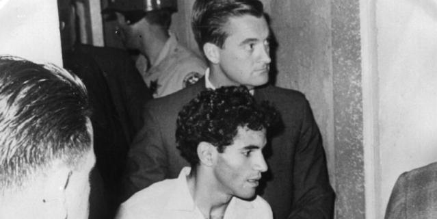 Убийца Роберта Кеннеди (в центре, снизу).