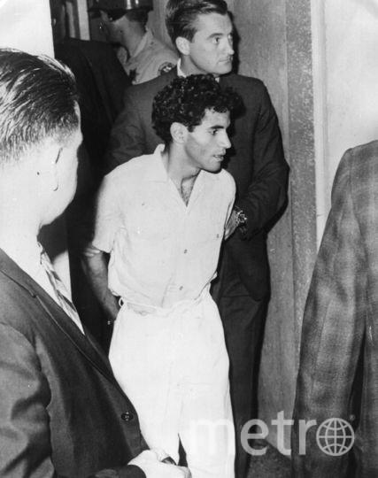Убийца Роберта Кеннеди (в центре, снизу). Фото Getty