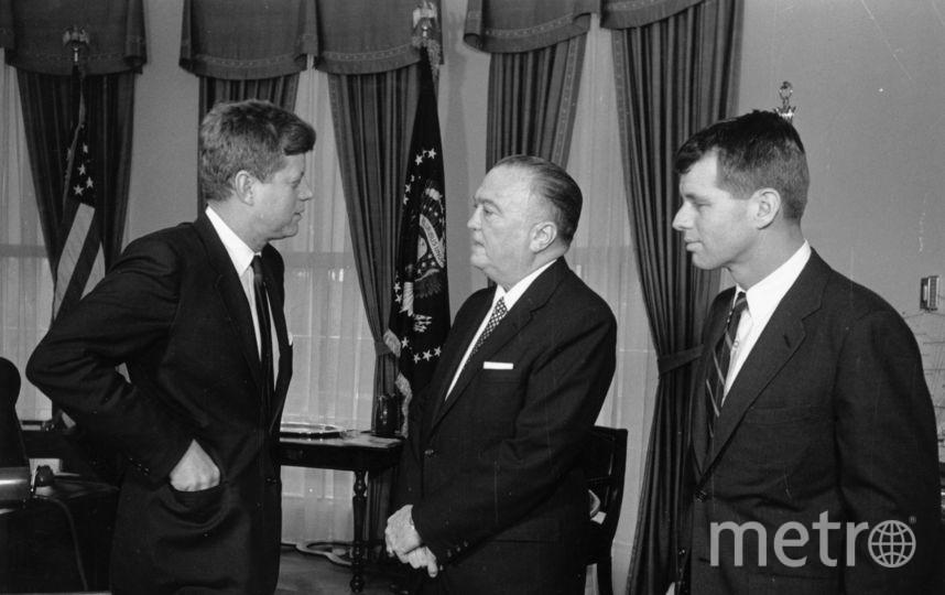 Джон Кеннеди (слева) и Роберт Кеннеди (справа). Фото Getty