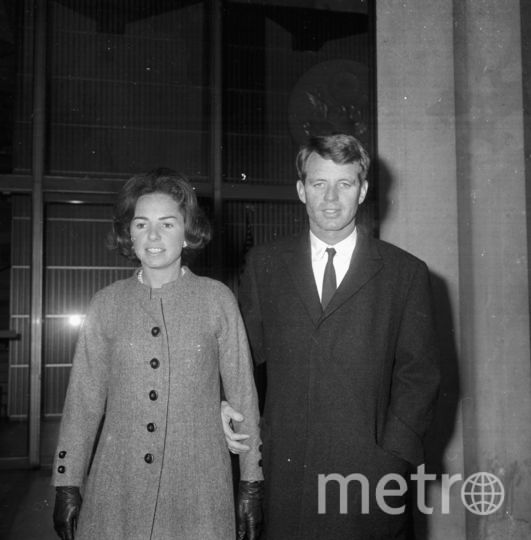 Роберт Кеннеди с супругой. Фото Getty