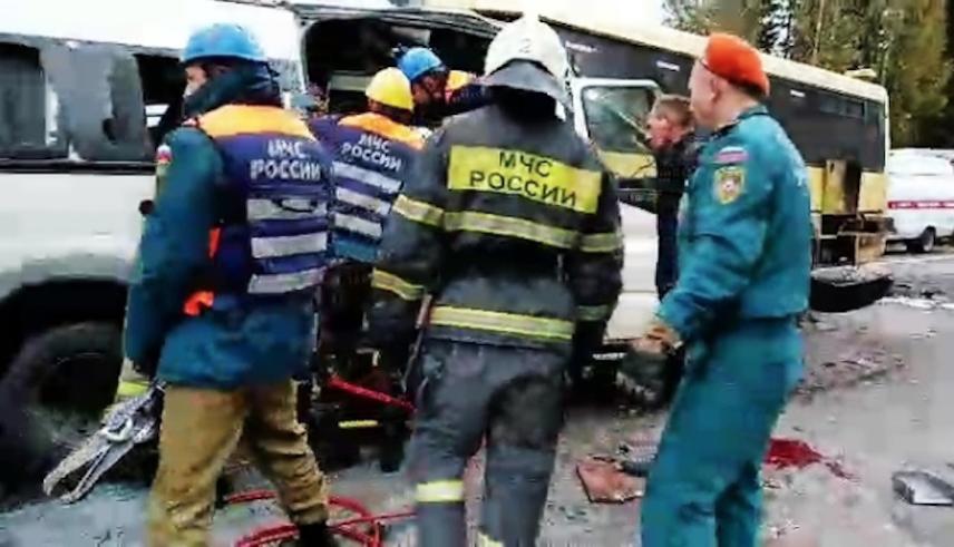 По факту произошедшего возбуждено уголовное дело. Фото РИА Новости