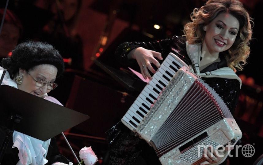 Монтсеррат Кабалье выступает в Москве. Фото Getty