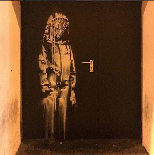 Картинка на личной страничке Бэнкси. Фото Скриншот Instagram/banksy