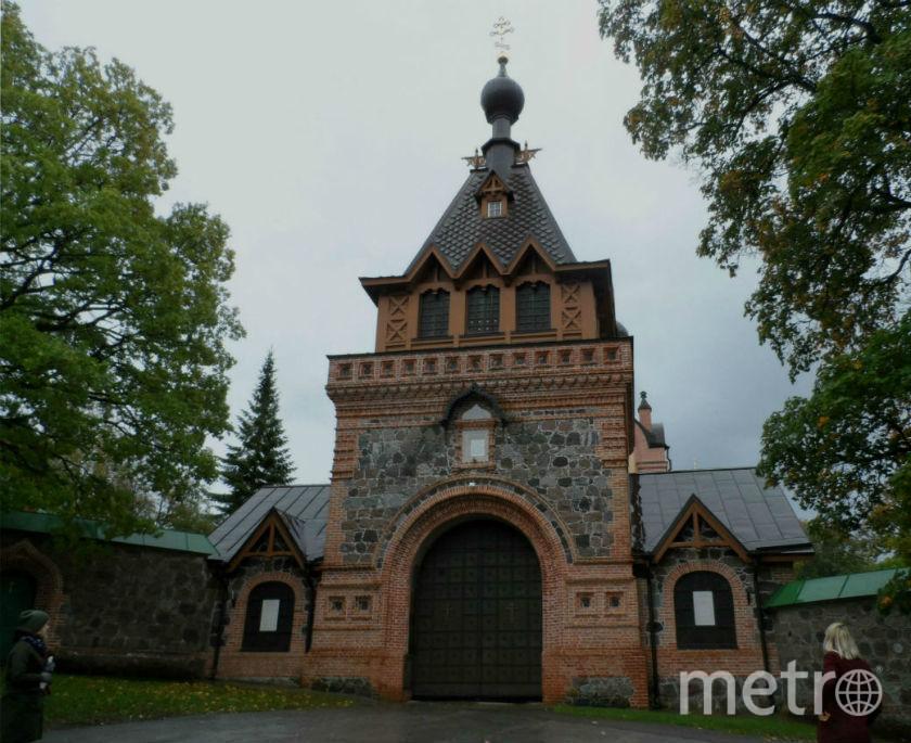 """Пюхтицкий монастырь. Фото Наталья Сидоровская, """"Metro"""""""