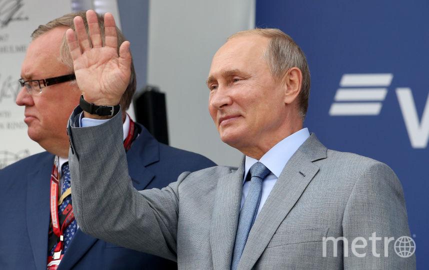 Владимир Путин поздравил нашего бойца. Фото Getty
