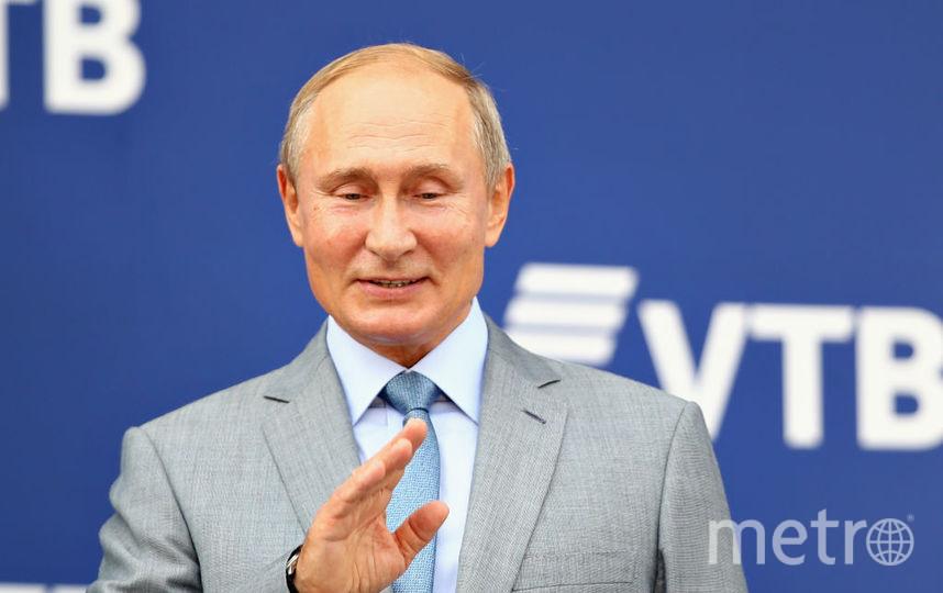 Владимир Путин отмечает день рождения - ему исполнилось 66 лет. Фото Getty
