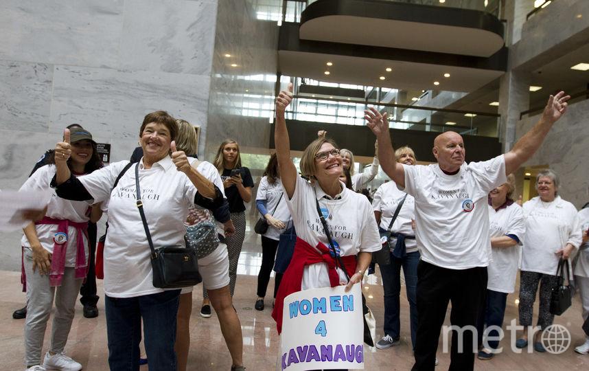 Протесты в США против назначения Кавано в Верховный суд. Фото Getty