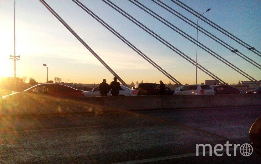 Аварии на мосту Бетанкура. Фото ДТП и ЧП | Санкт-Петербург | Питер Онлайн | СПб, vk.com