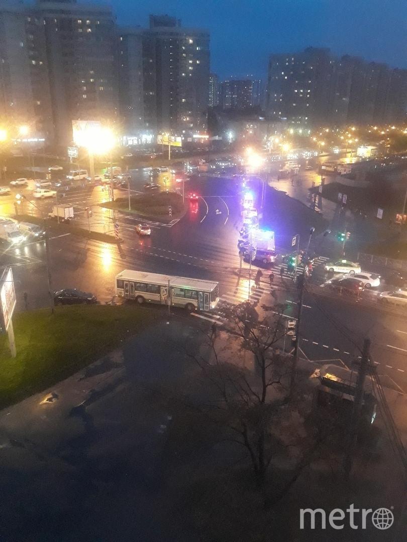 ДТП на Софийской. Фото ДТП и ЧП | Санкт-Петербург | vk.com/spb_today., vk.com