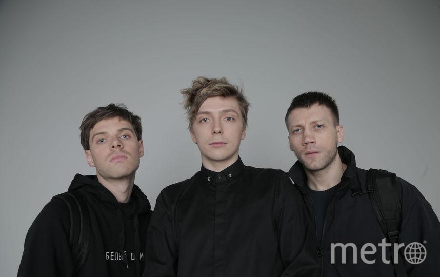На фото: Филипп Авдеев, Александр Горчилин и Александр Кузнецов. Фото Предоставлено организаторами