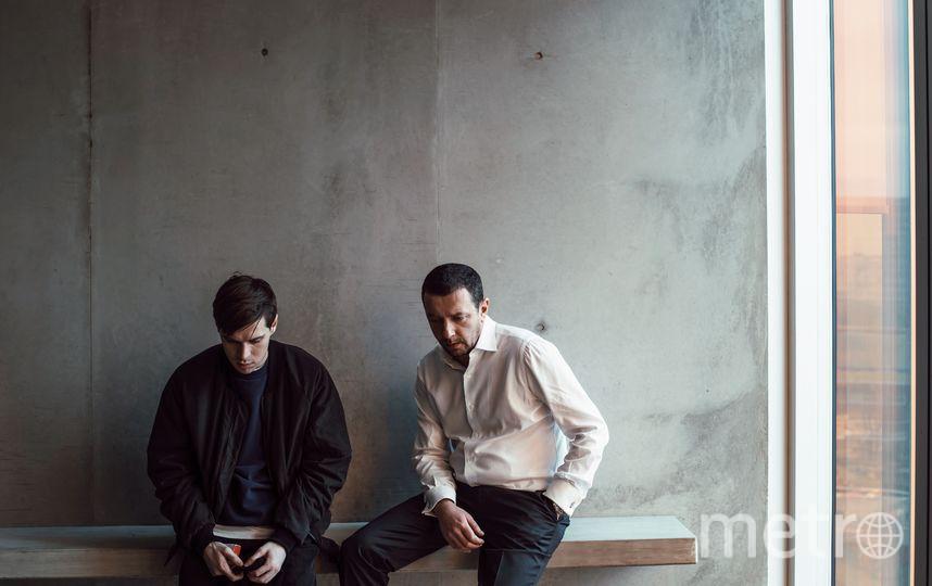 "Фото со съёмок фильма ""Кислота"". Филипп Авдеев и Алексей Агранович. Фото Предоставлено организаторами"