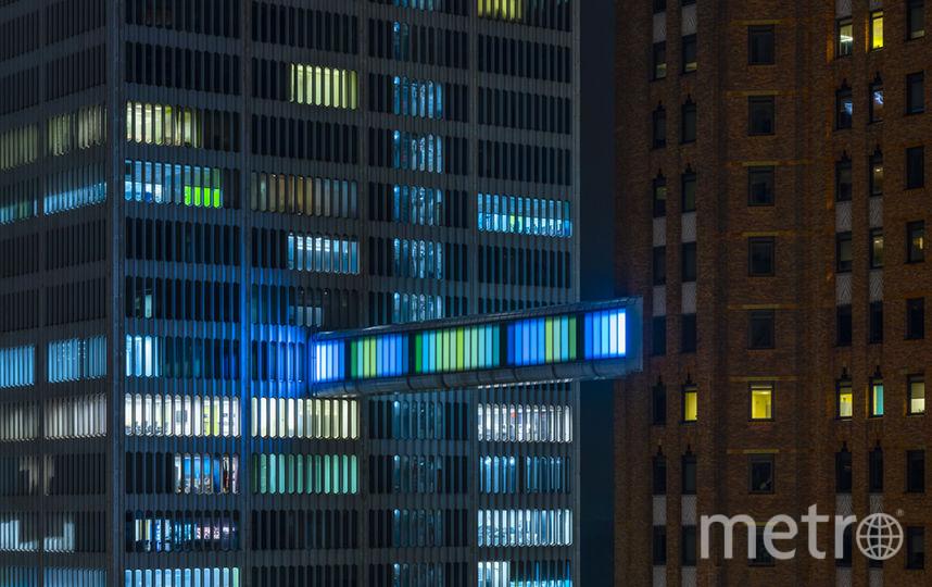 """Постройка смотрится выигрышно. Фото Phillip K. Smith III, """"Metro"""""""