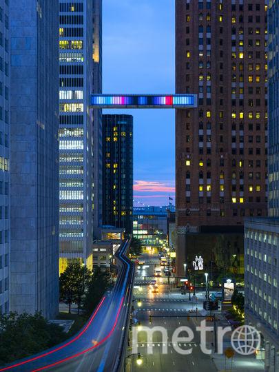 """Постройка станет украшением города. Фото Phillip K. Smith III, """"Metro"""""""