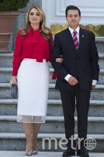 Энрике Пенья Ньето и Анхелика Ривера подали на развод. Фото Getty