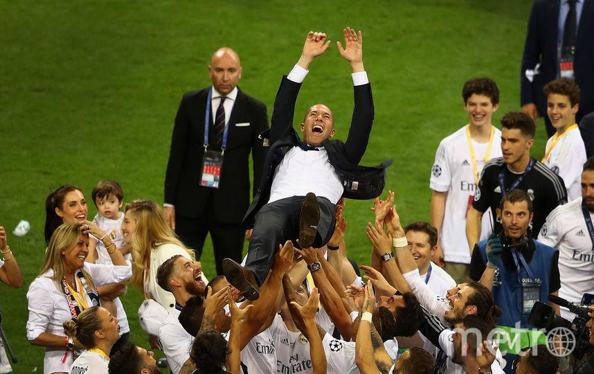 Зинедин Зидан после финального матча Лиги чемпионов. Фото Getty