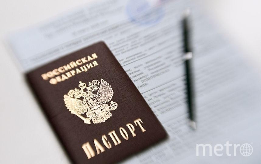 Новый паспорт будет представлять собой пластиковую карточку с электронным чипом. Фото РИА Новости