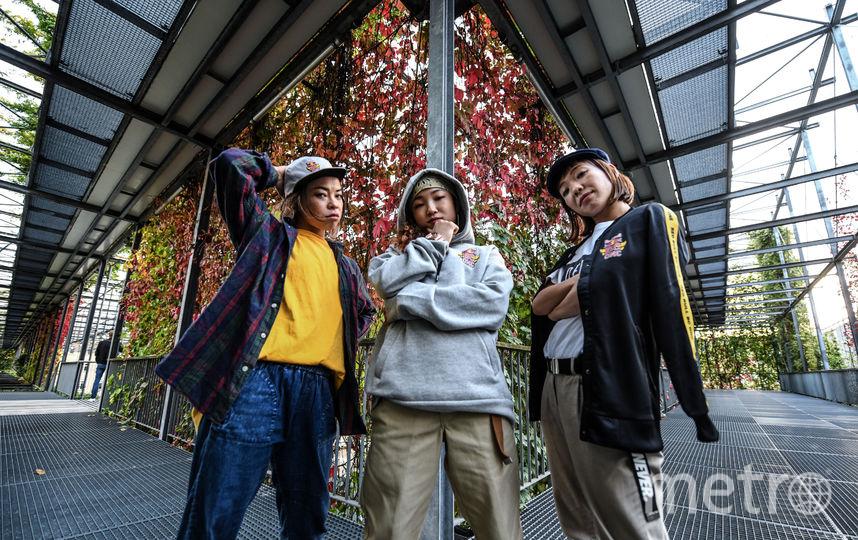 B-girls из Японии. Фото Предоставлено Red Bull